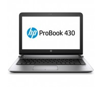 "Ноутбук HP ProBook 430 G3 13.3"" HD/ Core i3-6100U/ 4GB/ 500GB/ noODD/ WiFi/ BT/ DOS/ Metallic Grey (3QL31EA#ACB)"