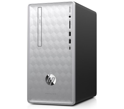 Компьютер HP Pavilion 590-p0008ur/ Core i3-8100/ 8GB/ 1TB/ GeForce GTX 1060 6GB/ DVD-RW/ Win10/ Natural Silver (4GM45EA#ACB)