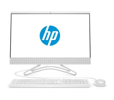 "Моноблок HP 22-c0034ur 21.5"" FHD/ Core i5-8250U/ 8GB/ 128GB SSD + 1TB/ noODD/ WiFi/ BT/ Win10/ Snow White (4GZ88EA#ACB)"