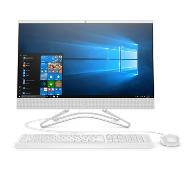 "Моноблок HP 22-c0008ur 21.5"" FHD/ AMD A6-9225/ 8GB/ 1TB/ noODD/ Radeon 520 2GB/ WiFi/ BT/ Win10/ Snow White (4HF90EA#ACB)"