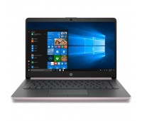 "Ноутбук HP 14-cf0009ur 14"" HD/ Core i3-7020U/ 8GB/ 128GB SSD + 1TB/ Radeon 530 2GB/ WiFi/ BT/ Win10/ rose gold (4JU58EA)"