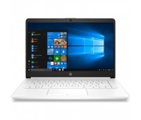 "Ноутбук HP 14-cf0012ur 14"" FHD/ Core i5-8250U/ 4GB/ 1TB + 16GB Optane/ noODD/ Radeon 530 2GB/ WiFi/ BT/ Win10/ Snow White (4JW29EA#ACB)"