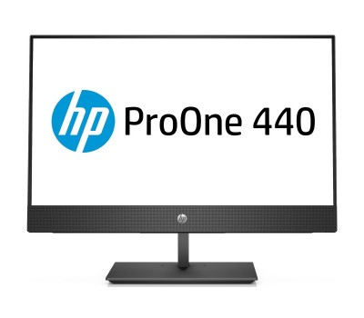"Моноблок HP ProOne 440 G4 AIO 23.8"" FHD/ Core i3-8100T/ 4GB/ 128GB SSD + 1TB/ DVD-RW/ WiFi/ BT/ Win10Pro (4YV96ES#ACB)"