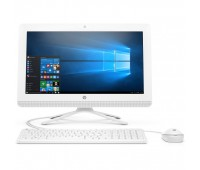 "Моноблок HP 20-c418ur 19.5"" FHD/ AMD A4-9125/ 4GB/ 500GB/ DVD-RW/ WiFi/ BT/ DOS/ Snow White (6PB28EA#ACB)"