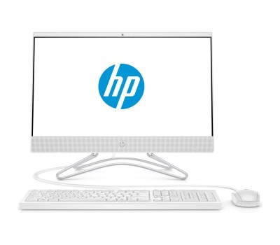 "Моноблок HP 22-c0103ur 21,5"" FHD/ AMD A9-9425/ 4GB/ 1TB/ DVD-RW/ WiFi/ BT/ DOS/ Snow White (6PE64EA#ACB)"