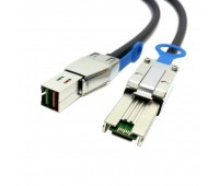 Кабель 1M Ext MiniSAS HD (SFF8644) to MiniSAS HD (SFF8644) Cable (716195-B21)