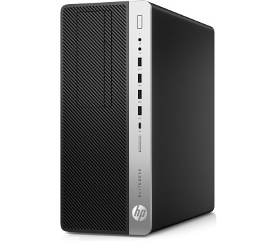 Компьютер HP EliteDesk 800 G4 TWR/ Core i7-8700K/ 16GB/ 256GB SSD + 2TB/ GeForce RTX 2080 8GB/ DVD-RW/ Win10Pro (7PE97ES#ACB)