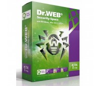 Антивирус Dr. Web Security Space (1 год, 1 ПК) (BHW-B-12M-1-A3)
