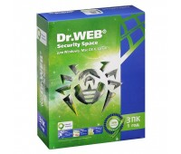 Антивирус Dr. Web Security Space (1 год, 3 ПК) (BHW-B-12M-3-A3)