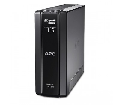 ИБП APC Back-UPS Pro Power Saving, 1200VA/720W, 230V, AVR, 6x CEE7, Data/DSL protect, 10/100 Base-T, USB, PCh, HS batt. (BR1200G-RS)