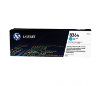 HP 826A Cyan LaserJet Toner Cartridge, голубой (CF311A)