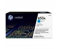 HP 653A Cyan Toner Cartridge, голубой/ 16000 стр (CF321A)