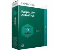 Kaspersky Anti-Virus Russian Edition. 2-Desktop 1 year Base Box. (KL1171RBBFS)