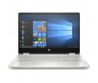 """Ноутбук HP Pavilion 14x 360 14-dh0005ur 14"""" FHD Touch/ Core i5-8265U/ 8GB/ 256GB SSD/ WiFi/ BT/ FPR/ Win10/ Mineral Silver (6PS33EA#ACB)"""