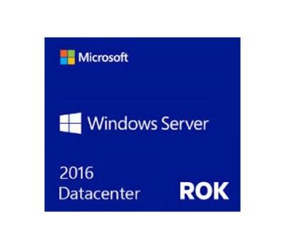 Лицензия HPE Windows Server 2016 Datacenter Edition, RU, 16-Core, ROK DVD (P00488-251)