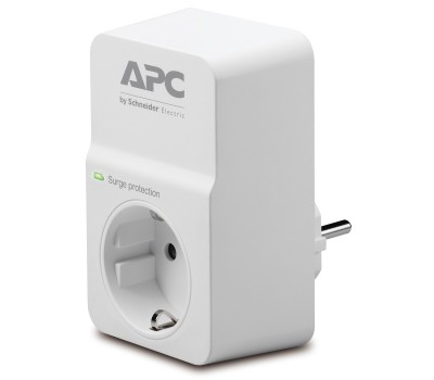 Сетевой фильтр APC Essential SurgeArrest 1 розетка 230V (PM1W-RS)
