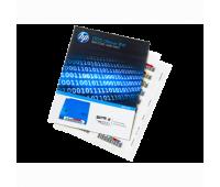 Упаковка этикеток со штрих-кодом для HP LTO-5 Ultrium RW (Q2011A)