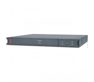ИБП APC Smart-UPS SC, Line-Interactive, 450VA / 280W, Rack/Tower, IEC, Serial (SC450RMI1U)
