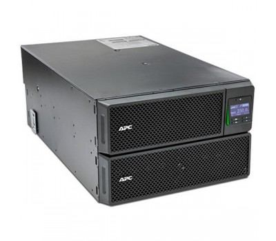 ИБП APC Smart-UPS SRT RM, 10000VA/10000W, On-Line, Tower/6U, Web/SNMP, RJ-45, Smart-Slot, USB (SRT10KRMXLI)