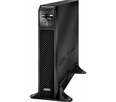ИБП APC Smart-UPS SRT RM, 2200VA/1980W, On-Line, Tower, user repl. batt., LCD, RJ-45, USB, SmartSlot (SRT2200XLI)