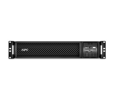 ИБП APC Smart-UPS SRT RM, 3000VA/2700W, On-Line, 2U, RJ-45, Smart-Slot, USB (SRT3000RMXLI)