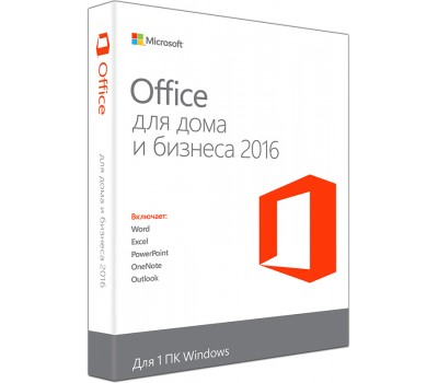 Электронный ключ Microsoft Office Home and Business 2016 Win (AllLng, C2R, NR) (T5D-02322)